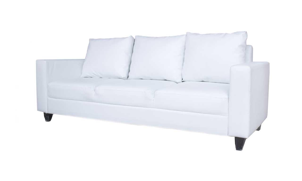 Sofa VIP 1 Triple (hitam/putih)