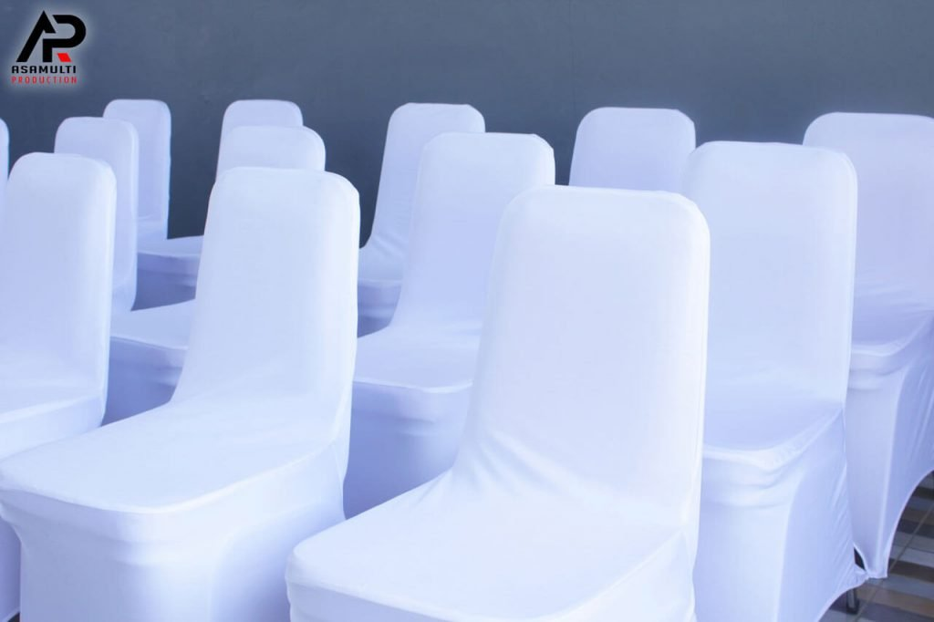 kursi futura warna kain putih