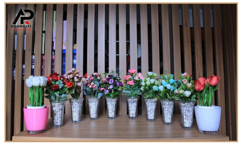 sewa bunga plastik