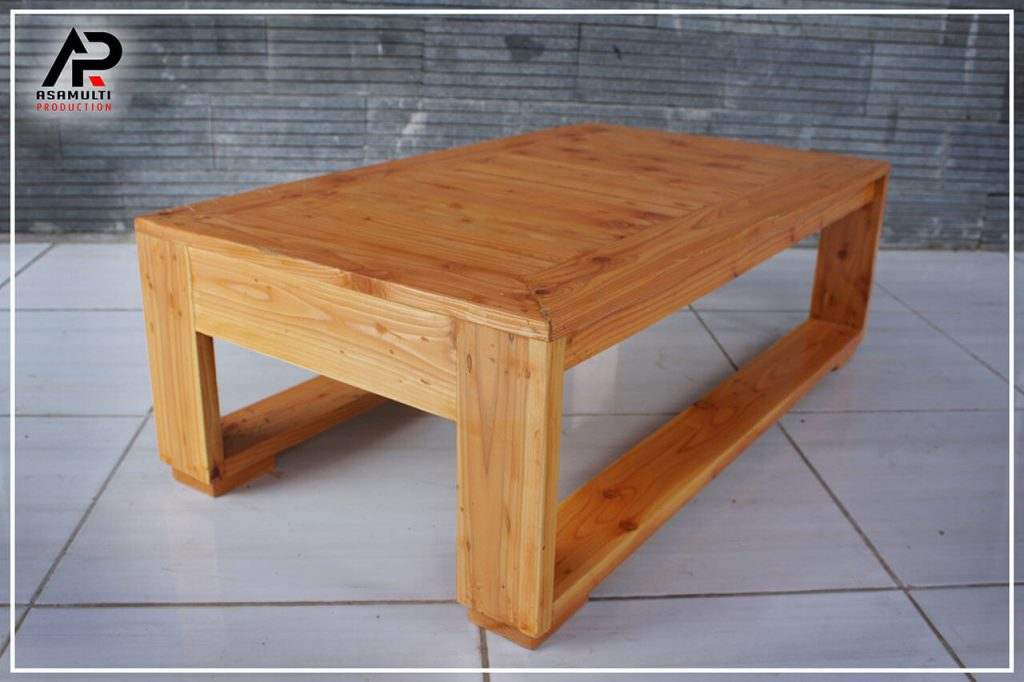 coffee table model lesehan