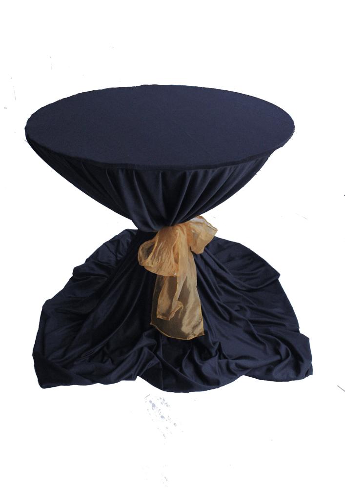 meja dealing cover hitam plus pita