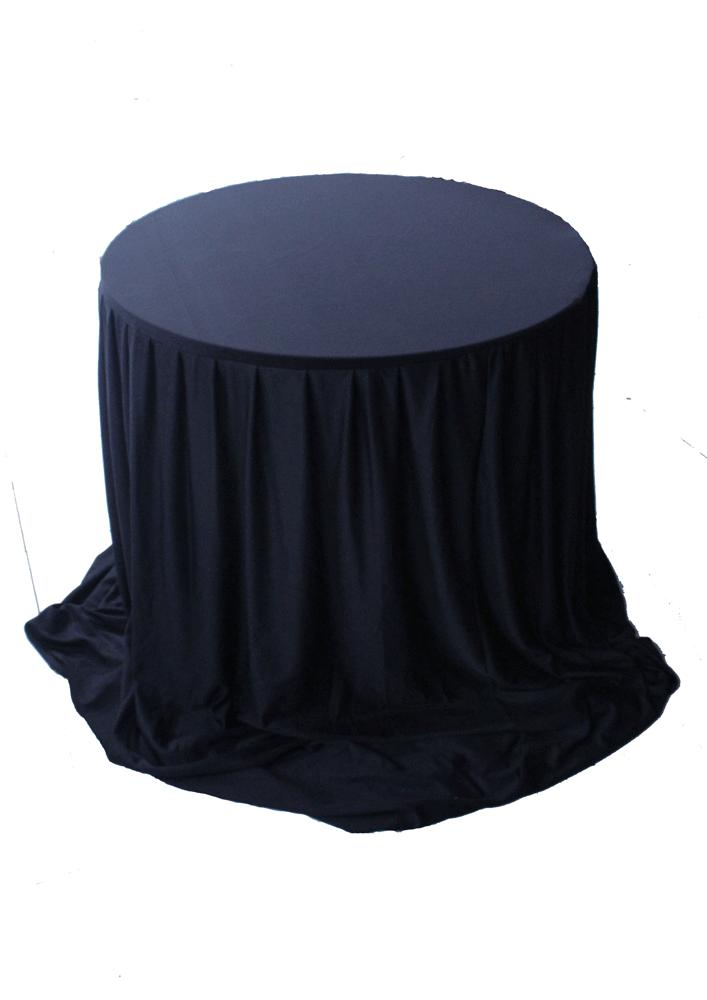 meja dealing cover hitam
