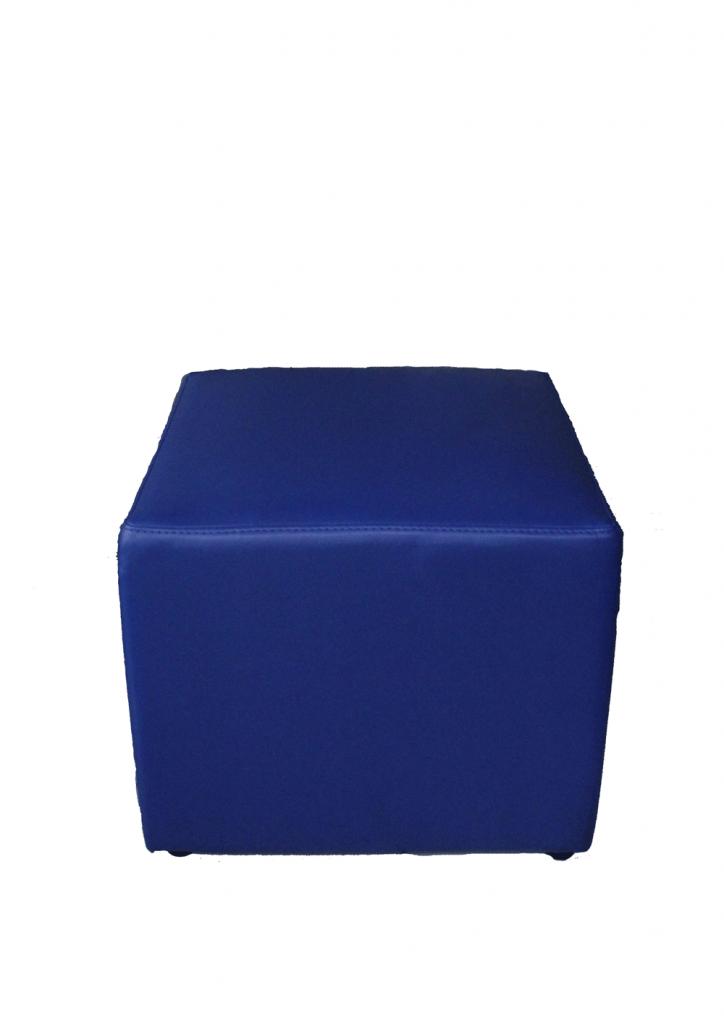 sofa puff biru tua