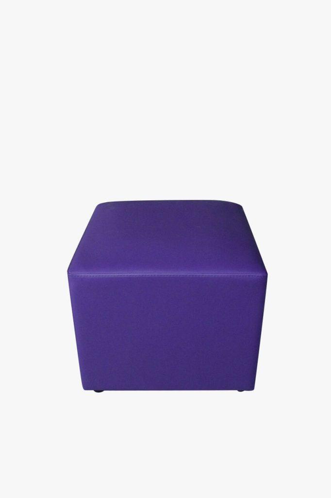 sofa puff ungu